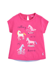 Tom Joules pink shirt pony