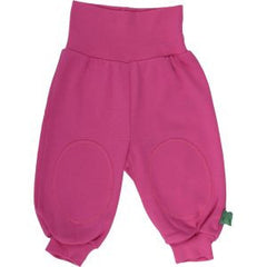 green cotton kindermode alfa pants pink bei heldenkind