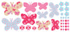 Wandsticker moveables butterfly patch
