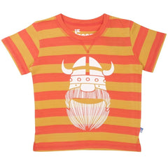 Danefae T-Shirt Sloppy Joe Orange/Gelb