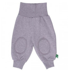 graue kinder jogginghose green cotton bei heldenkind