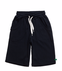 green cotton alfa shorts navy bei heldenkind