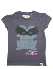 eco hero fred mask mädchen shirt green cotton bei heldenkind