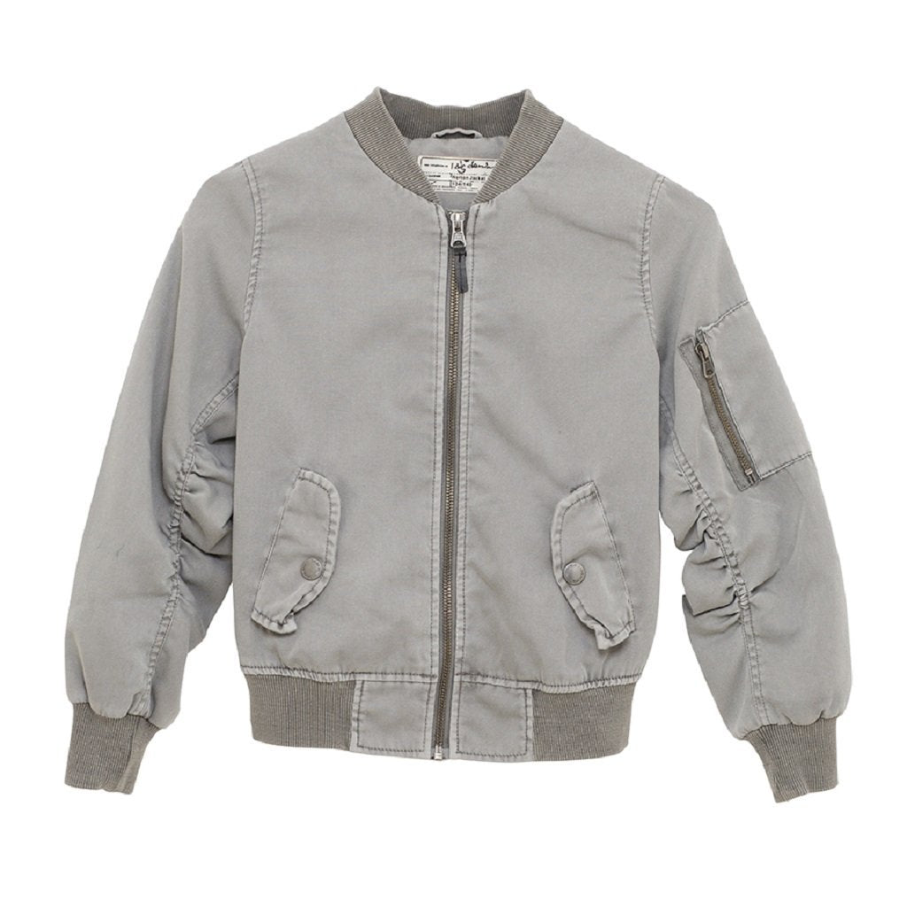 I dig denim Bomberjacke Norton Grey