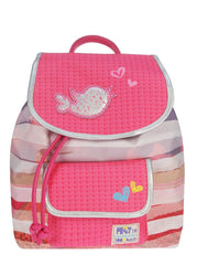 Rucksack PRET DENIMIZED in pink