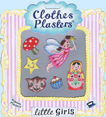 Bügelbilder Clothes Plasters Little Girls Set 6 Stück