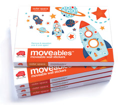 Wandsticker moveables outer space