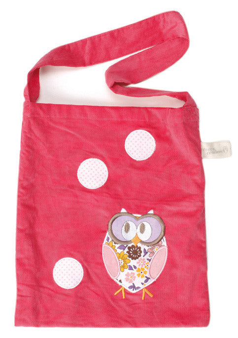 Kindertsche SLEEPY OWL in pink