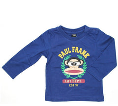 Shirt Langarm Art Dept Small Paul in blau