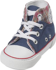 Baby Canvas-Turnschuh Blau