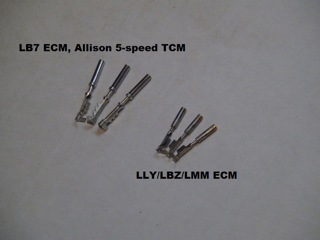 bt dieselworks duramax ecm connector pins. Black Bedroom Furniture Sets. Home Design Ideas