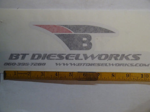 BT DieselWorks Sticker (large)