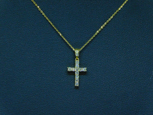 Small Diamond Cross