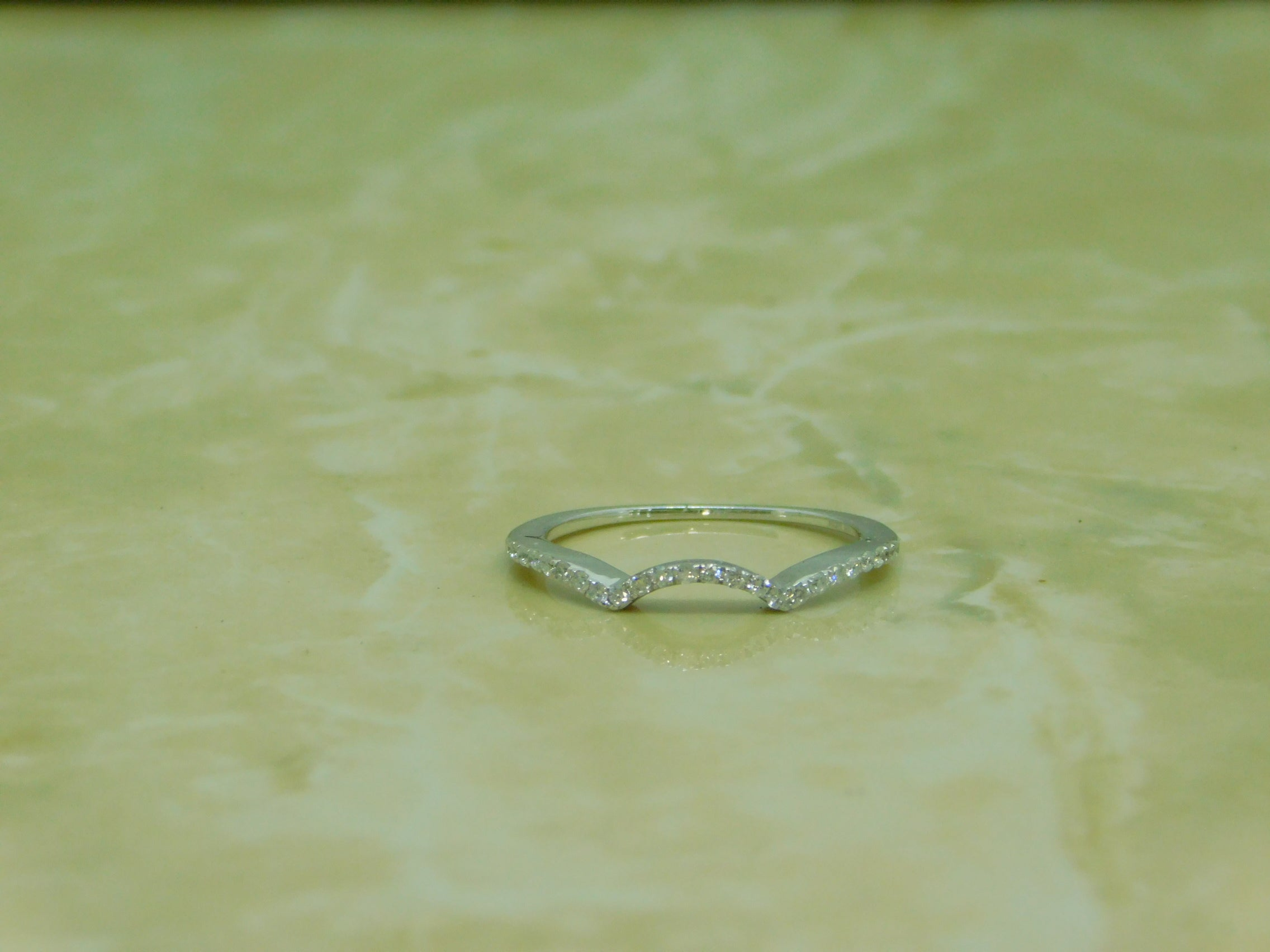 Ladies Engagement Ring With Matching Band