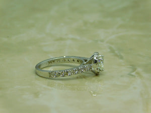 Ladies Heart shape Engagement Ring