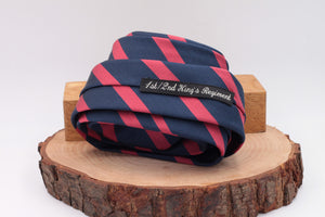 Red and Blue stripe tie