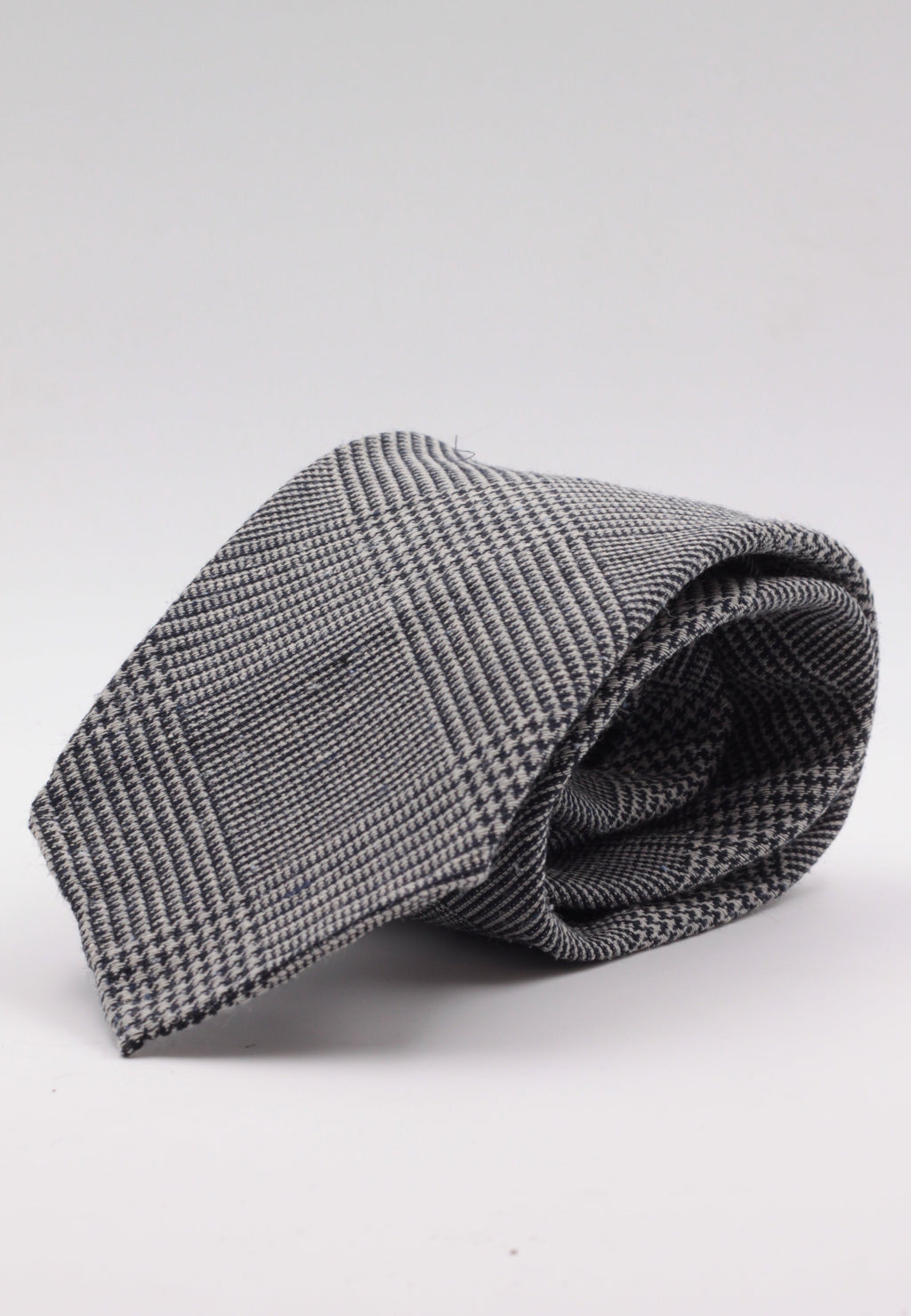 Prince of Wales grey and dark blue tie