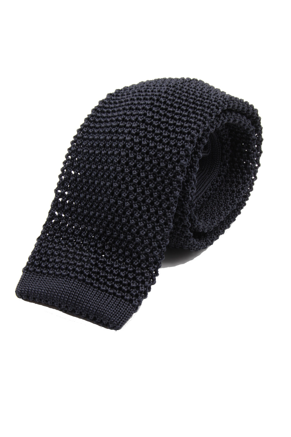 Dark Grey knitted tie