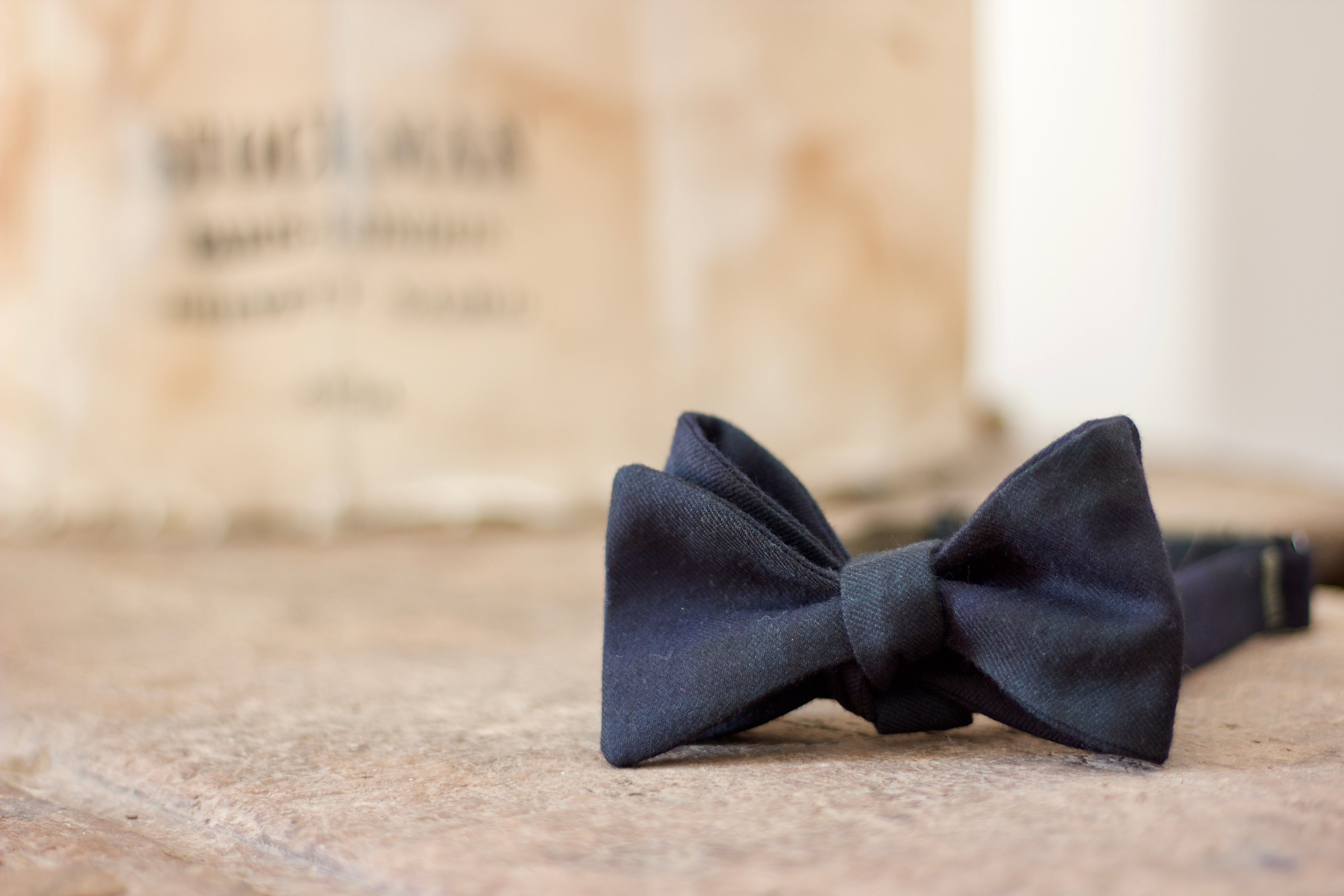 Noodles - Bow Ties - Wool  - Blackwatch