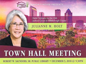 December 3, 2018 Town Hall Meeting