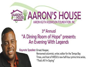 "3rd Annual ""A Dining Room of Hope"" presents: An Evening With Legends"