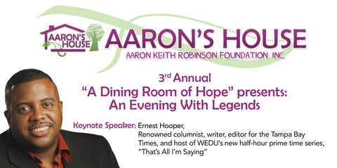 """3rd Annual """"A Dining Room of Hope"""" presents: An Evening With Legends"""