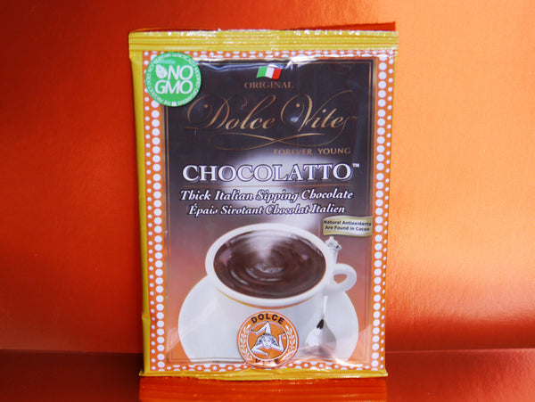 Dolce Vite Chocolatto World's Best Thick Dark Creamy Italian Hot Chocolate NYC Vegan No GMO Healthy Recipes