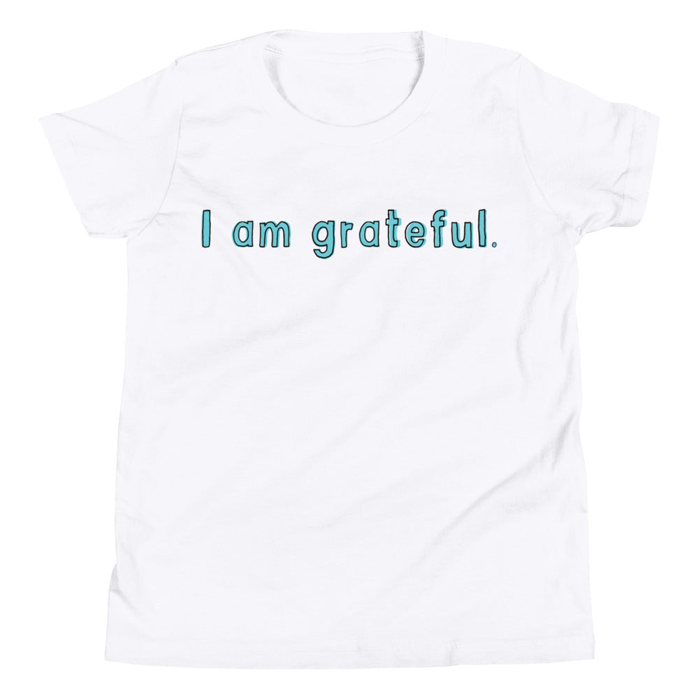 Youth Short Sleeve Gratitude T-Shirt