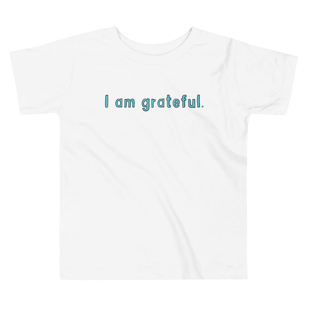 Toddler Short Sleeve Gratitude Tee