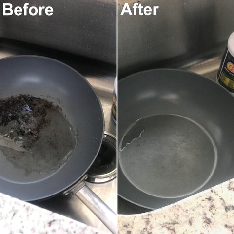pan degreaser pots and pan grease remover