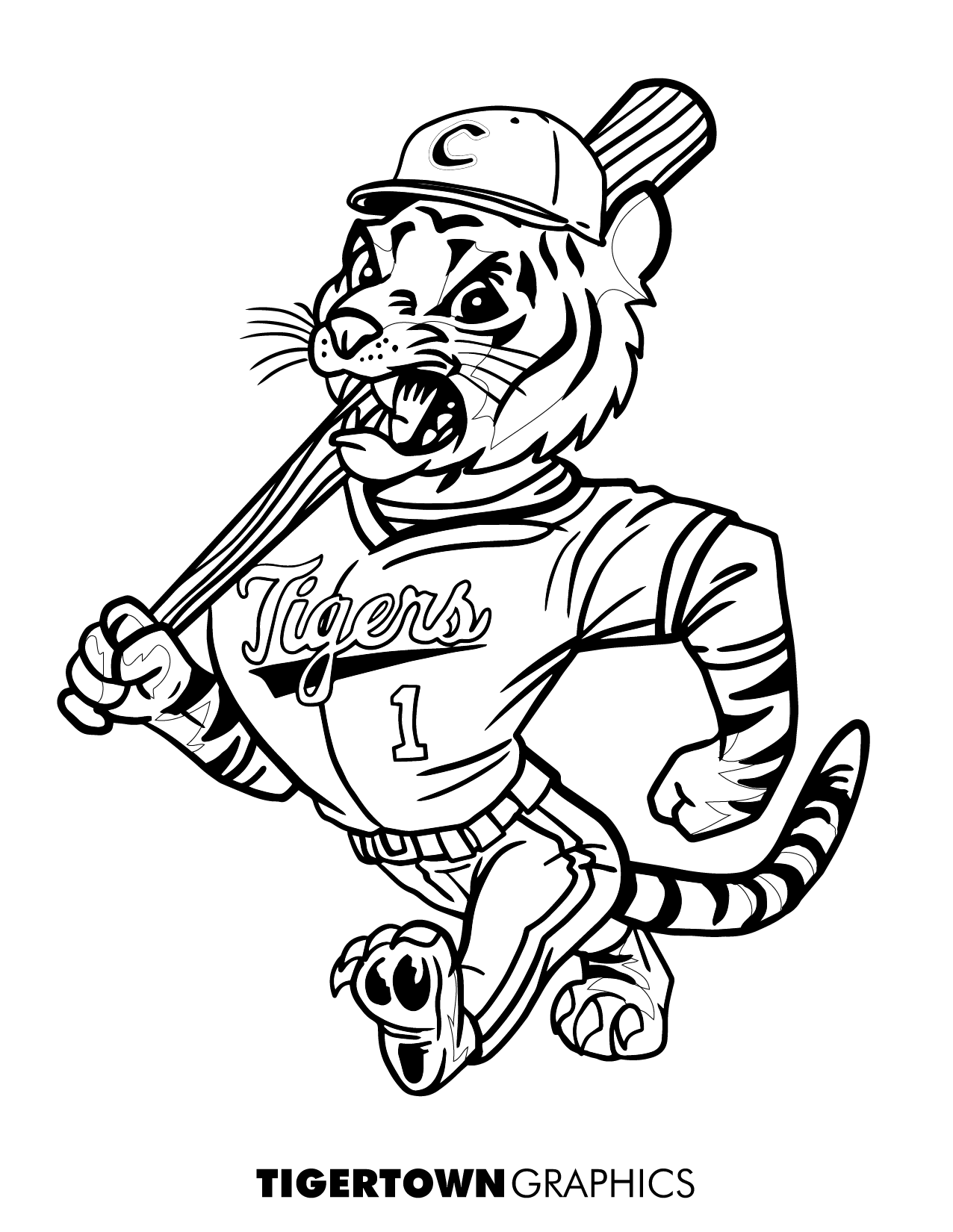 Graphics Tigertown - Coloring Pages!