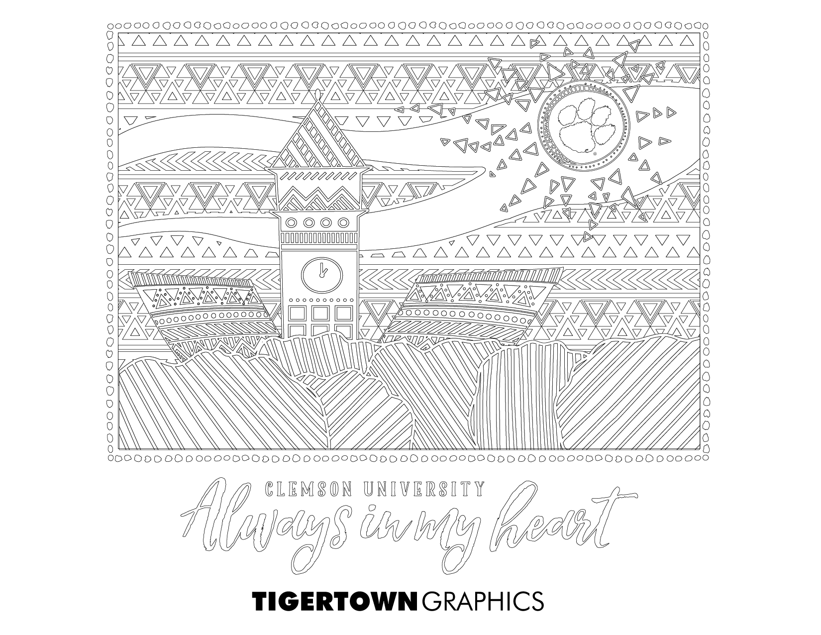 Coloring Pages! - Tigertown Graphics