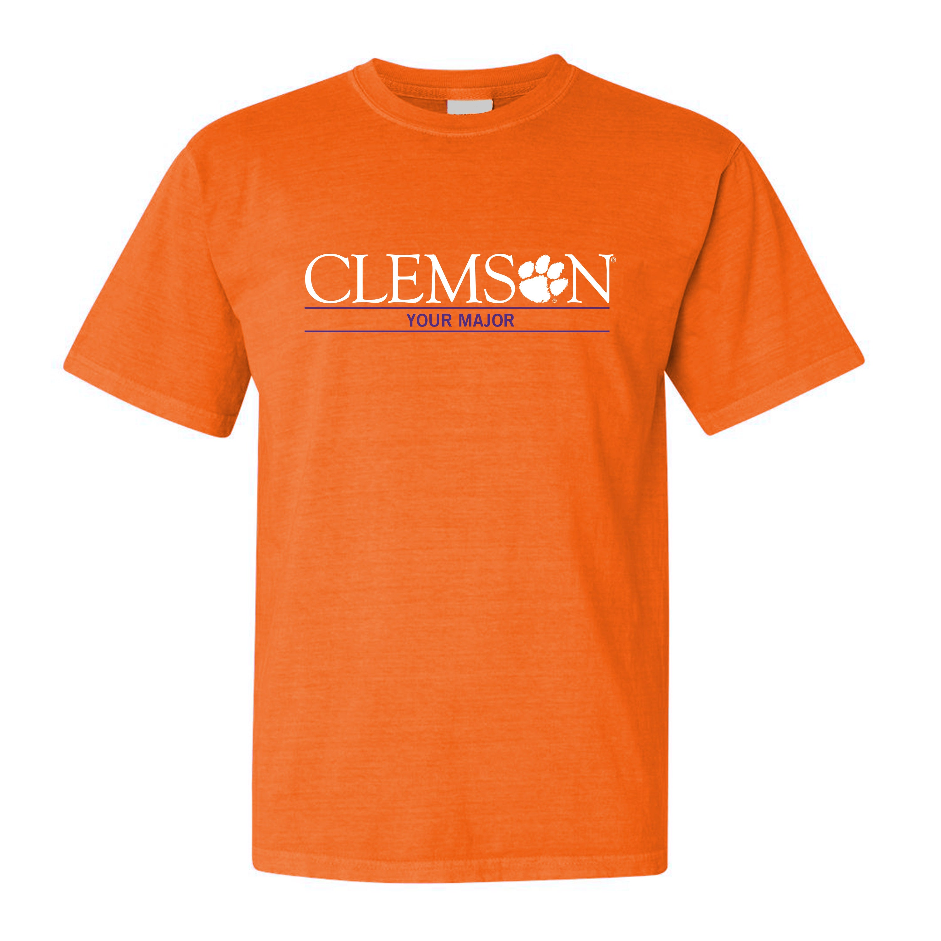 - Tigertown Graphics Choose Wordmark Clemson Major Your A-e|The Wearing Of The Inexperienced (and Gold)