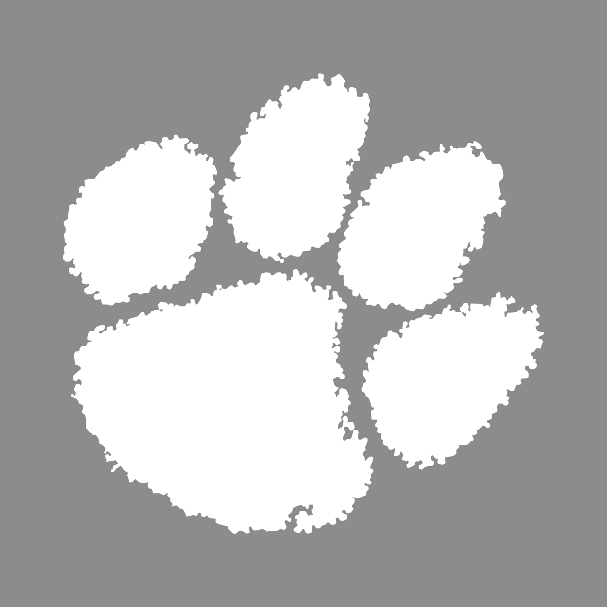 Clemson Paw Print Png – Tiger paw png is about is about clemson university, clemson tigers football, tiger, clemson tigers womens basketball, clemson university tiger band.