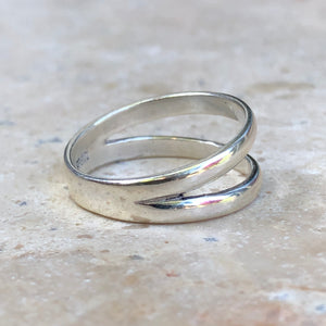 Sterling Silver Double Polished Band Ring Size 7, Sterling Silver Double Polished Band Ring Size 7 - Legacy Saint Jewelry