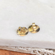 Load image into Gallery viewer, 14KT Yellow Gold Heavy Earring Backs 8mm/ 10mm - Legacy Saint Jewelry