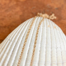 Load image into Gallery viewer, 14KT Yellow Gold Polished .95mm Cable Chain Necklace