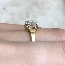 Load image into Gallery viewer, 14KT Yellow Gold Duchess Cut Marquise Diamond Band Estate Ring Size 7, 14KT Yellow Gold Duchess Cut Marquise Diamond Band Estate Ring Size 7 - Legacy Saint Jewelry