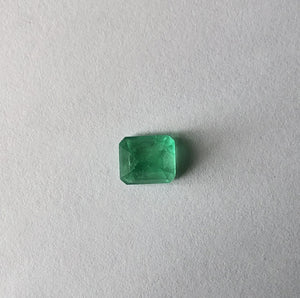 Colombian Emerald Cut Loose Emerald 2.00 CT, Colombian Emerald Cut Loose Emerald 2.00 CT - Legacy Saint Jewelry