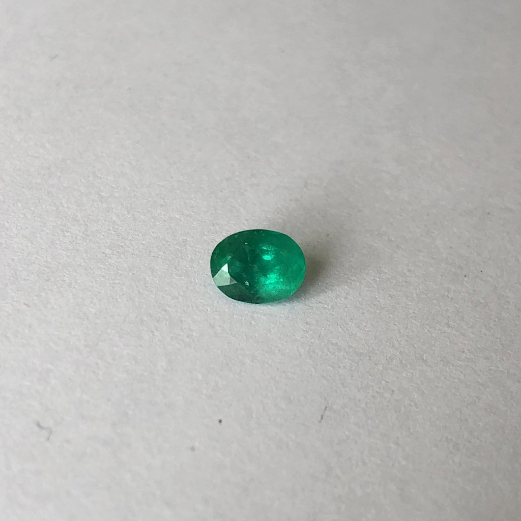 Colombian Oval Emerald Cut Loose Emerald .60 CT, Colombian Oval Emerald Cut Loose Emerald .60 CT - Legacy Saint Jewelry