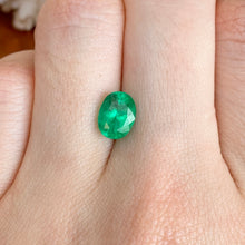 Load image into Gallery viewer, Colombian Emerald Oval Cut Loose Emerald 1.98 CT