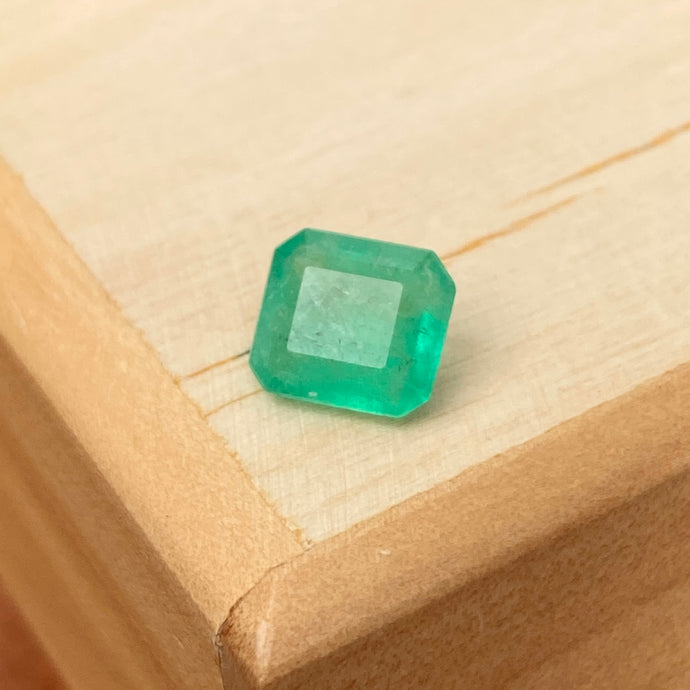 Colombian Emerald Cut Loose Emerald 1.79 CT, Colombian Emerald Cut Loose Emerald 1.79 CT - Legacy Saint Jewelry