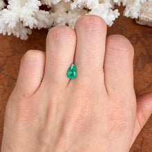Load image into Gallery viewer, Colombian Emerald Cut Pear/Teardrop Shape Loose Emerald 1.02 CT - Legacy Saint Jewelry