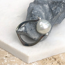Load image into Gallery viewer, 14KT White Gold + 12mm Paspaley South Sea Pearl Ring, 14KT White Gold + 12mm Paspaley South Sea Pearl Ring - Legacy Saint Jewelry