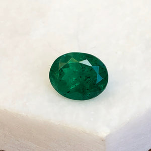 Colombian Oval Cut Faceted Loose Emerald 1.77 CT, Colombian Oval Cut Faceted Loose Emerald 1.77 CT - Legacy Saint Jewelry