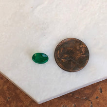 Load image into Gallery viewer, Colombian Oval Cut Faceted Loose Emerald 1.77 CT, Colombian Oval Cut Faceted Loose Emerald 1.77 CT - Legacy Saint Jewelry