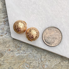 Load image into Gallery viewer, Yellow Gold-Filled Glitter Earring Backs, Yellow Gold-Filled Glitter Earring Backs - Legacy Saint Jewelry