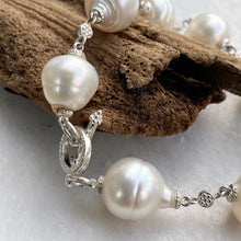 Load image into Gallery viewer, 14KT White Gold +  Paspaley South Sea Pearl Spacers Bracelet, 14KT White Gold +  Paspaley South Sea Pearl Spacers Bracelet - Legacy Saint Jewelry