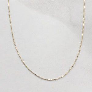"14KT Yellow Gold Beaded Ball Link Chain Necklace 18"", 14KT Yellow Gold Beaded Ball Link Chain Necklace 18"" - Legacy Saint Jewelry"