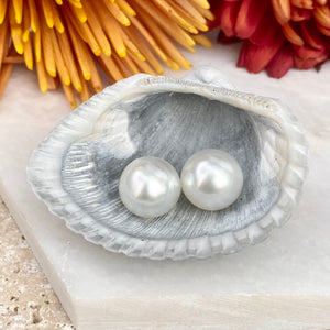 "Genuine Paspaley South Sea Loose Pearl Pair ""Fine"" Quality 11mm, Genuine Paspaley South Sea Loose Pearl Pair ""Fine"" Quality 11mm - Legacy Saint Jewelry"